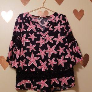 Crown & Ivy blouse size sp